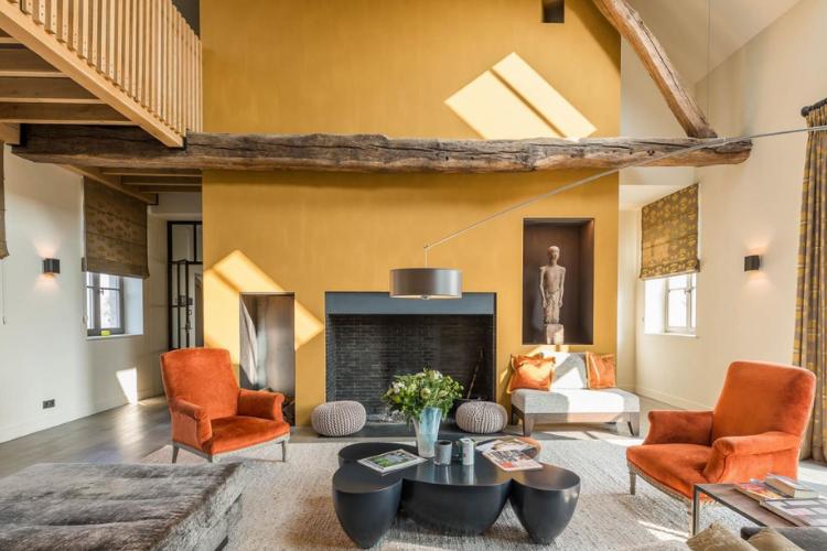 7 Цветовых Тенденций для гостиных.